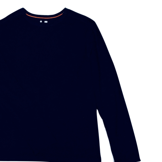 LUXE Lounge Shirt - Midnight Blue(紺)