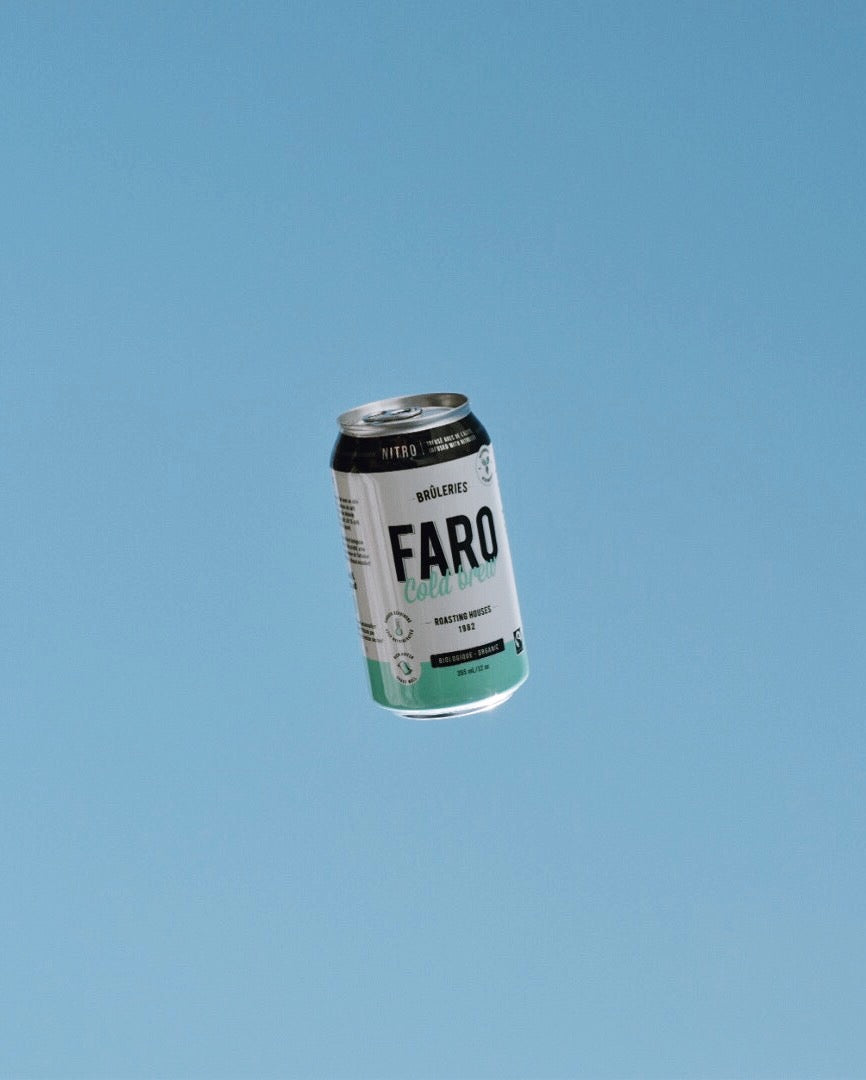 Cold Brew nitro coffee Faro