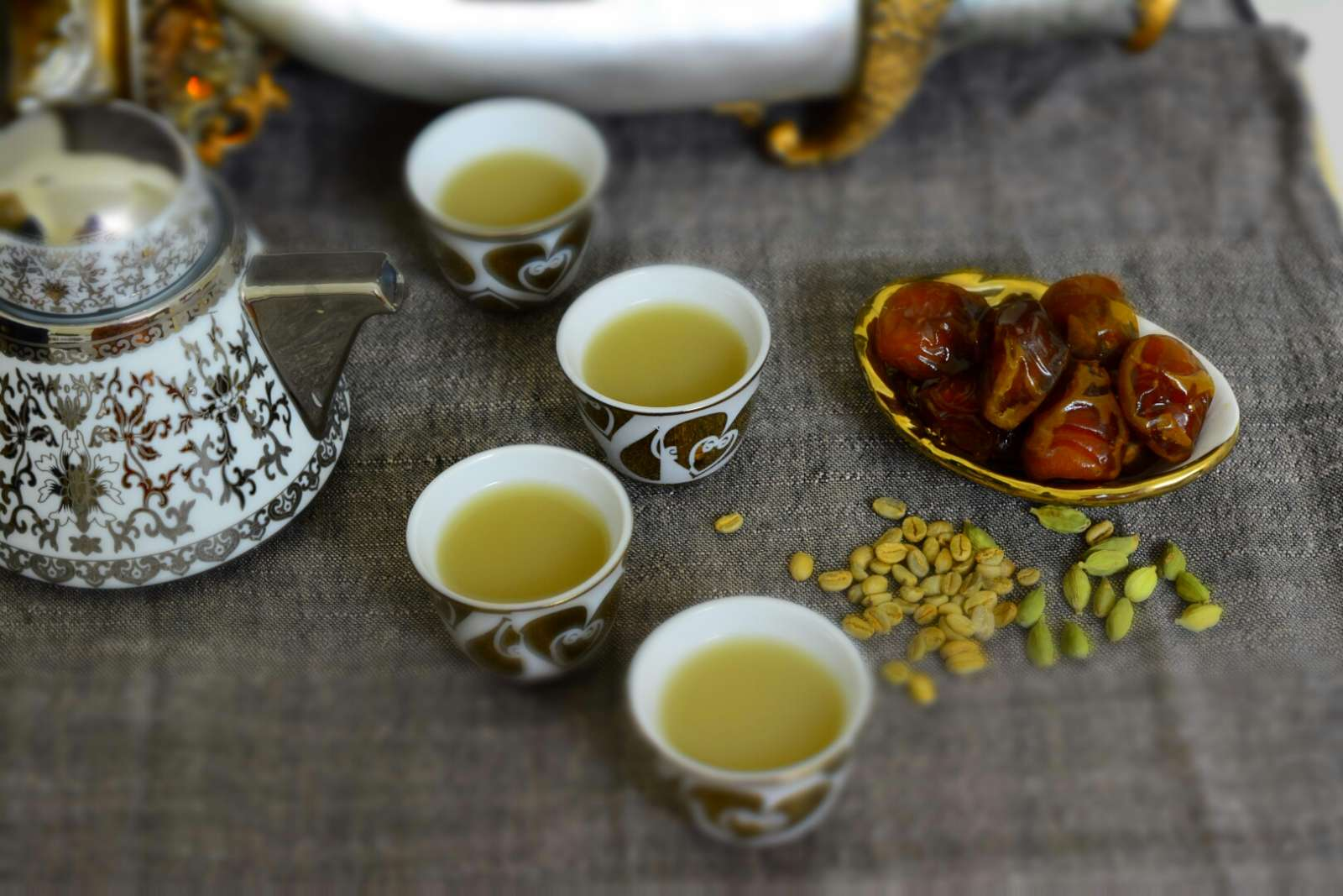 Qahwa arabic coffee