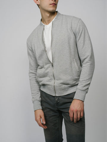 Men's Fleece Bomber Sweatshirt