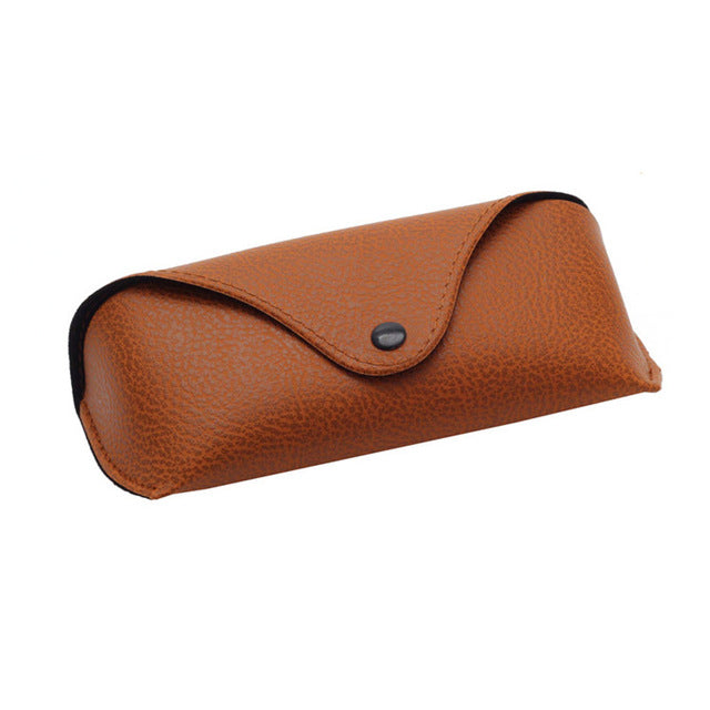 Greek Brown Leather Case