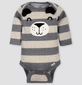 Bodysuits Gerber Baby Boys' 5pc Long Sleeve Bear