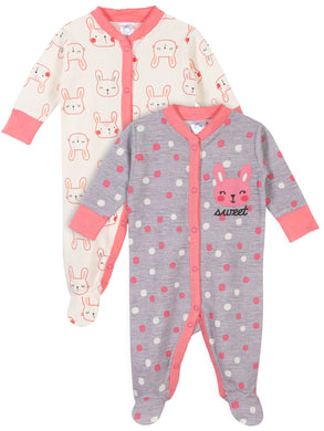 Gerber Baby Girl Thermal - 2PC