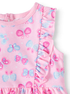 Bodysuits, 2-peça Multi-Pack Garanimals