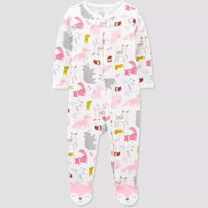 Macacão Baby Girls's Fox - Just One You® Carter's