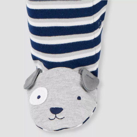 MACACÃO Baby Boys' Puppy Striped Just One You®  carter's