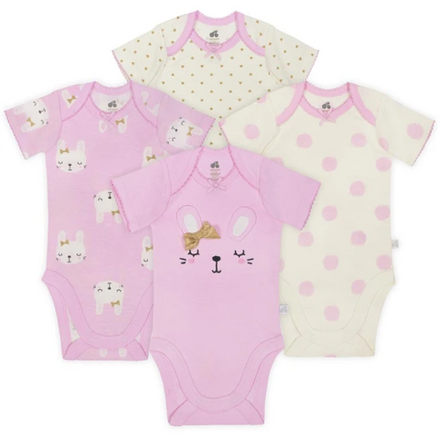 Kit Bodysuits Just Born - 4pç