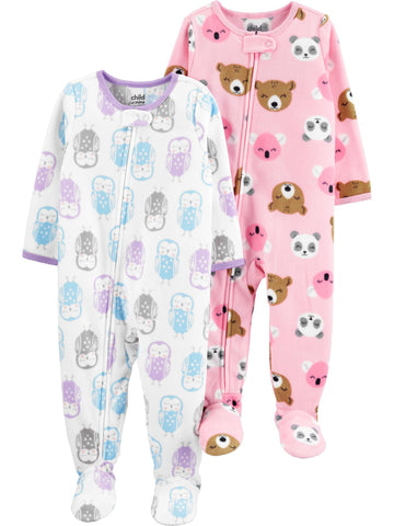conjunto de Microfleece Child of Mine by Carter's  PRONTA  ENTREGA