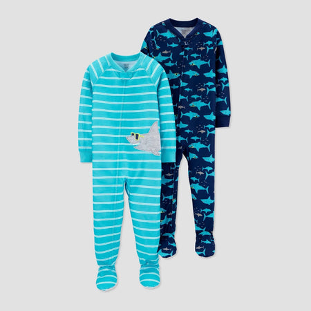 Pijama 2pc com patas para meninos - Just One You® por carter's