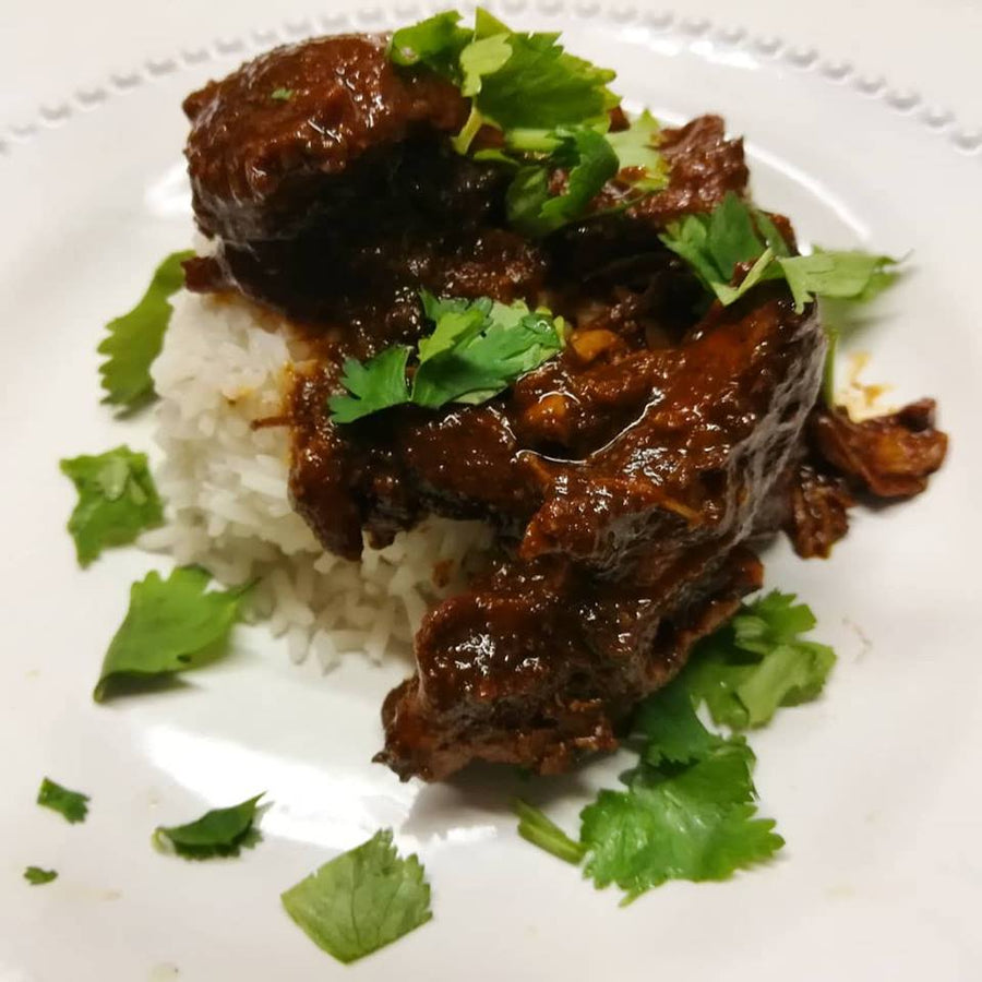 Chocolate Balsamic Chicken Mole