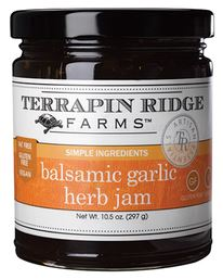 Balsamic Garlic Herb Jam