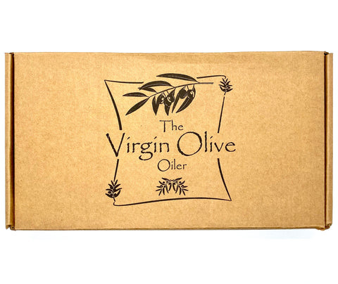 The Virgin Olive Oiler 6-Bottle Sampler Gift Box
