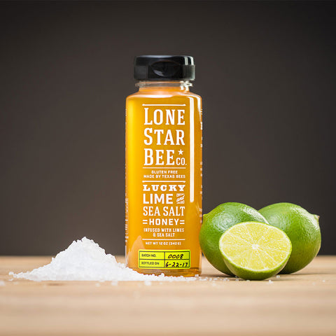 Lucky Lime and Sea Salt Honey