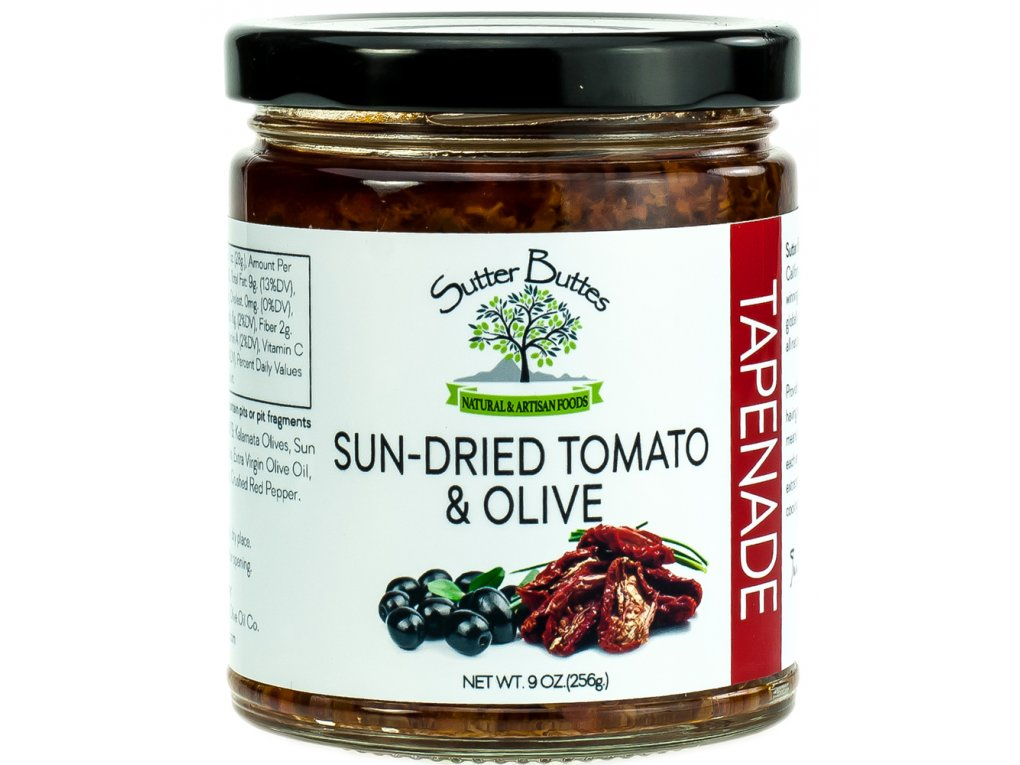 Sutter Buttes Sun Dried Tomato & Olive Tapenade