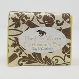 The Fort Worth Cattleman's Bar All-Natural Handmade Olive Oil Soap