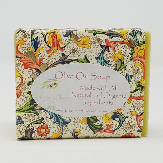 Orange Ginger Scented All-Natural Handmade Olive Oil Soap