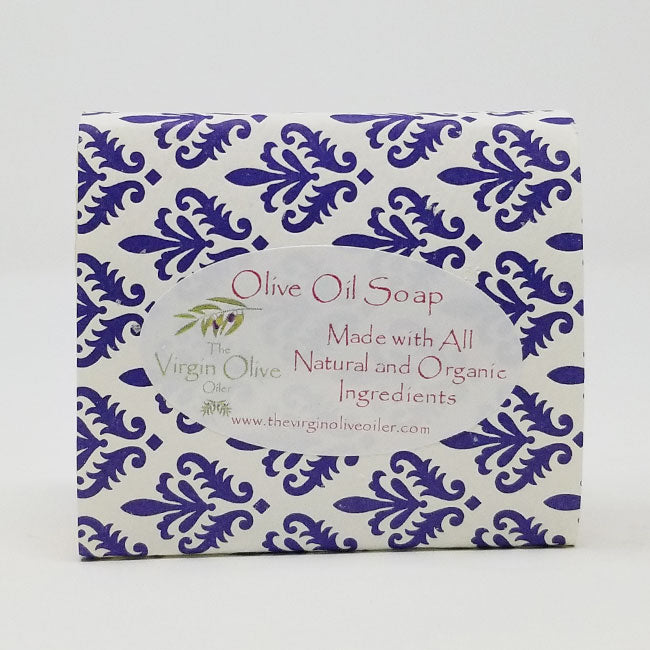 Peppermint Eucalyptus Scented All-Natural Handmade Olive Oil Soap