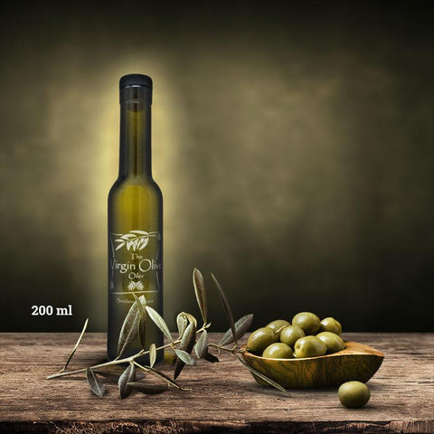 Organic Garlic Olive Oil