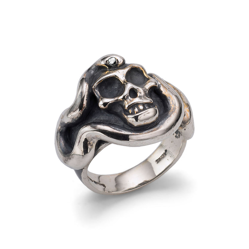 Skull Serpent Ring