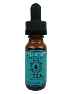 1,200mg 15ml Full Spectrum Tincture - United Hemp Refinery CBD