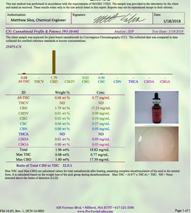 500mg 30ml Full Spectrum Pet Tincture - United Hemp Refinery CBD