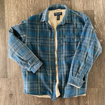 Vintage Moose Creek Heavy Fleeced Flannel Jacket