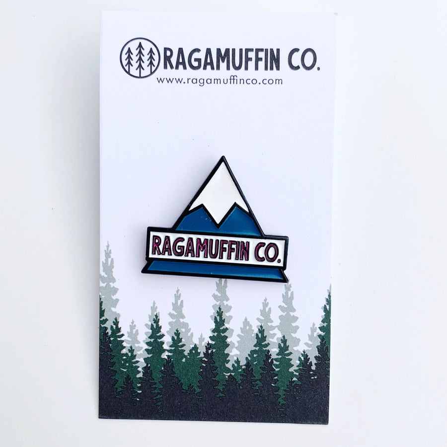 Peak // Enamel Pin