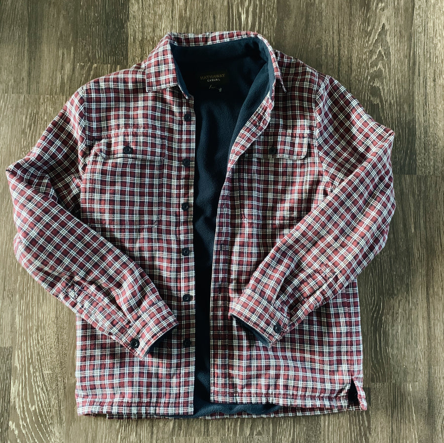 Vintage Hathaway Fleece Flannel Jacket