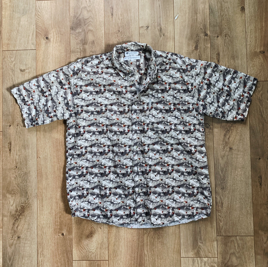 Vintage Columbia Button-Up