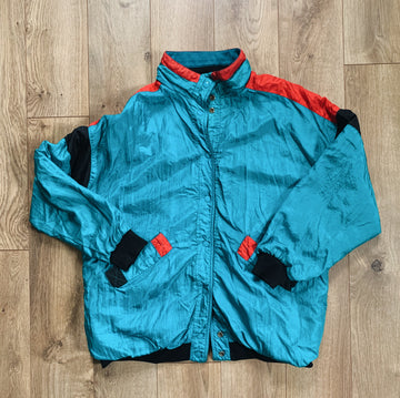 Vintage Fleeced Workout Jacket