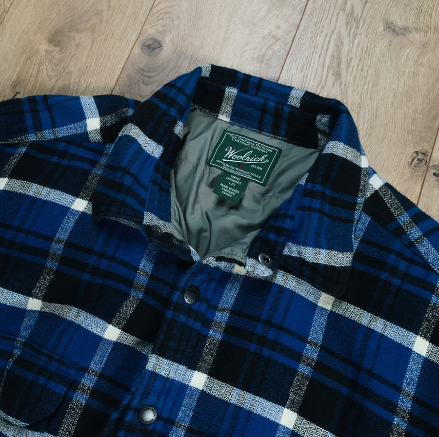 Vintage Woolrich Insulated Flannel Jacket