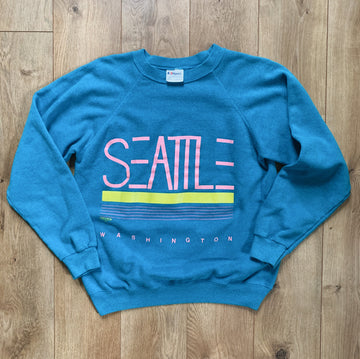 Vintage Seattle Crewneck