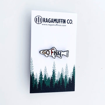 Go Fish // Enamel Pin