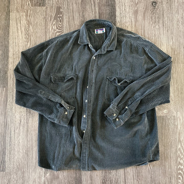 Vintage NorthCrest Heavy Corduroy Flannel