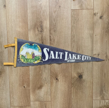 Vintage Salt Lake City Pennant