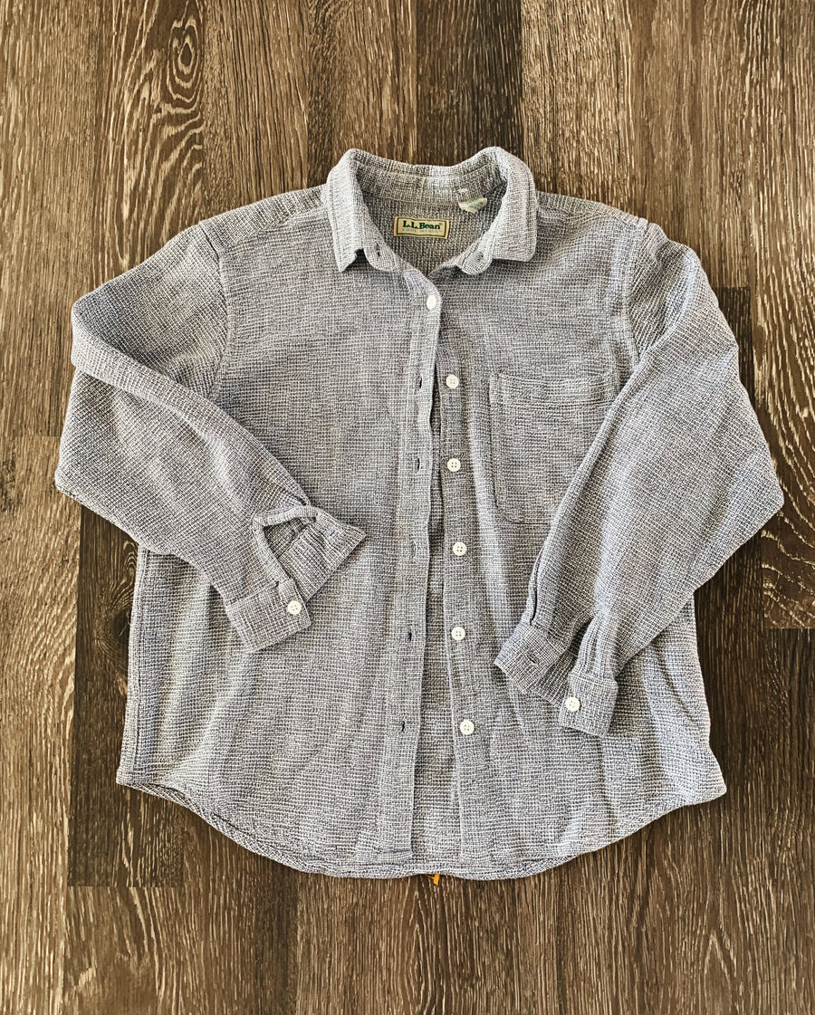 Vintage Women's L.L. Bean Coolweave Button-Up