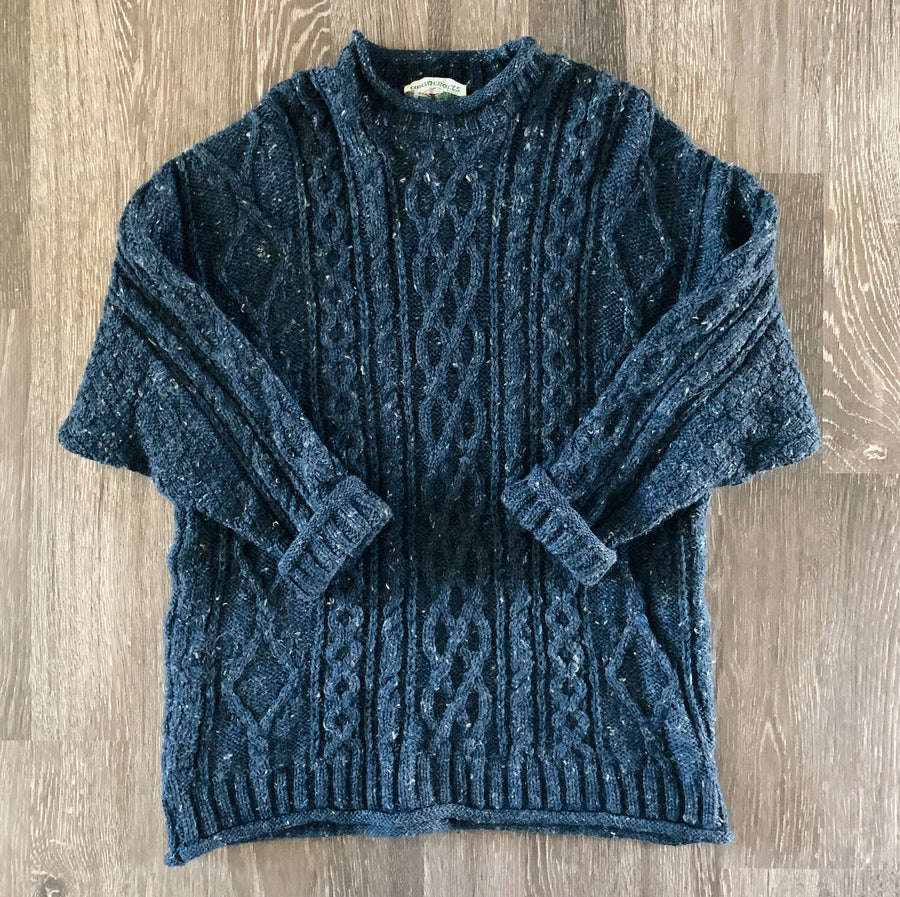 Vintage Ireland Fisherman's Wool Sweater