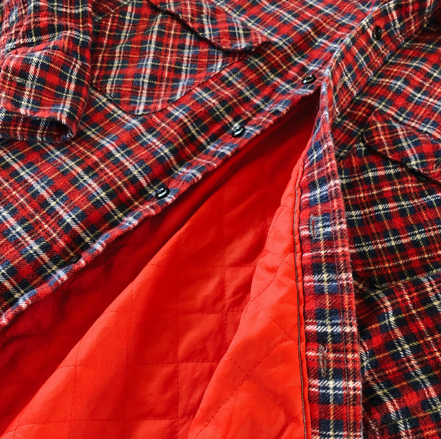 Vintage National Quilted Flannel