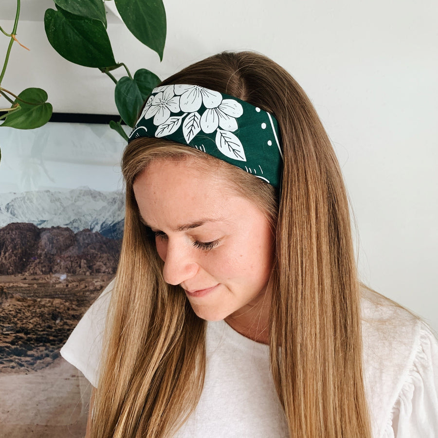 Laura Makes Bandana Collab // Forest Green