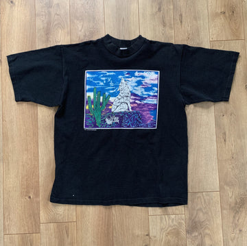 Vintage Heavyweight Coyote Tee