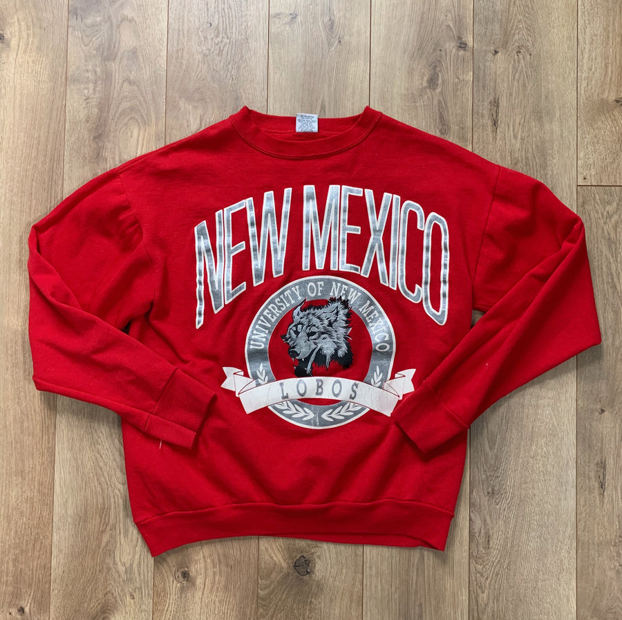 Vintage New Mexico Lobos Crewneck