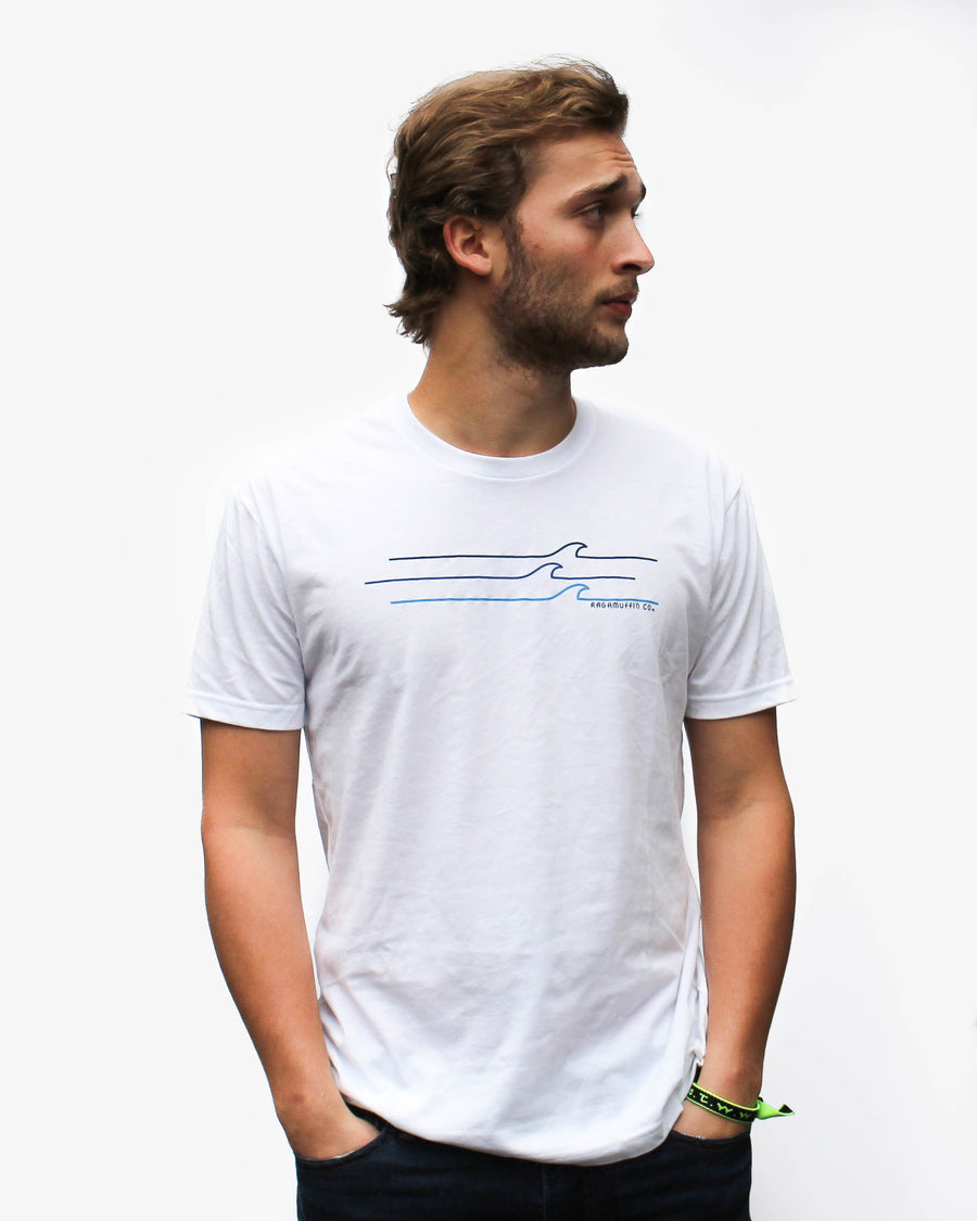 The Swell Tee // White
