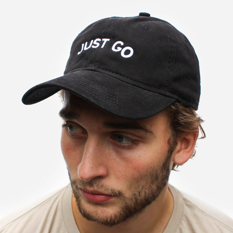 Just Go Dad Hat // Multiple Colors