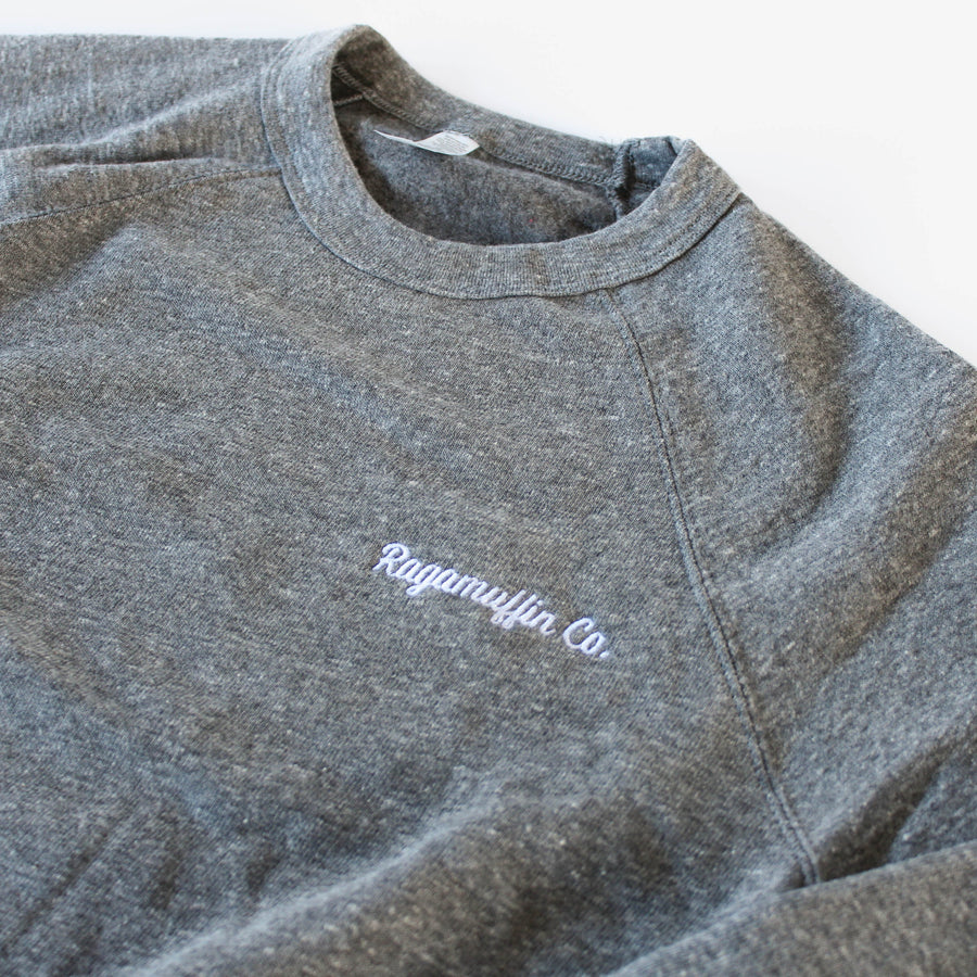 Coalition Embroidered Crewneck // Multiple Colors