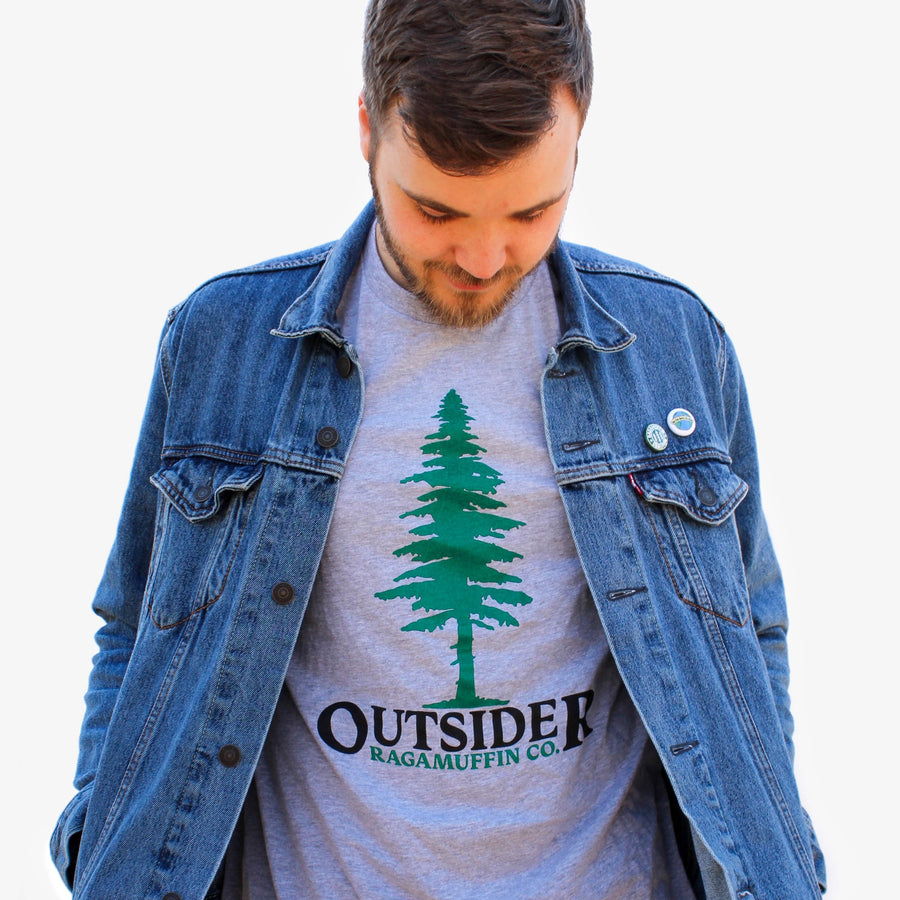 Outsider Tee // Heather Grey