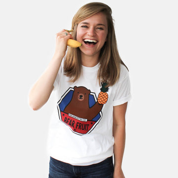 Bear Fruit Tee // Multiple Colors