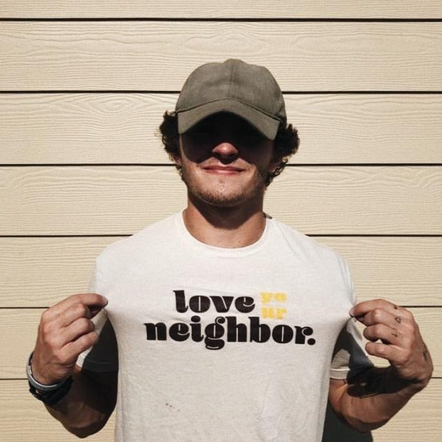 Love Your Neighbor Tee // Oatmeal