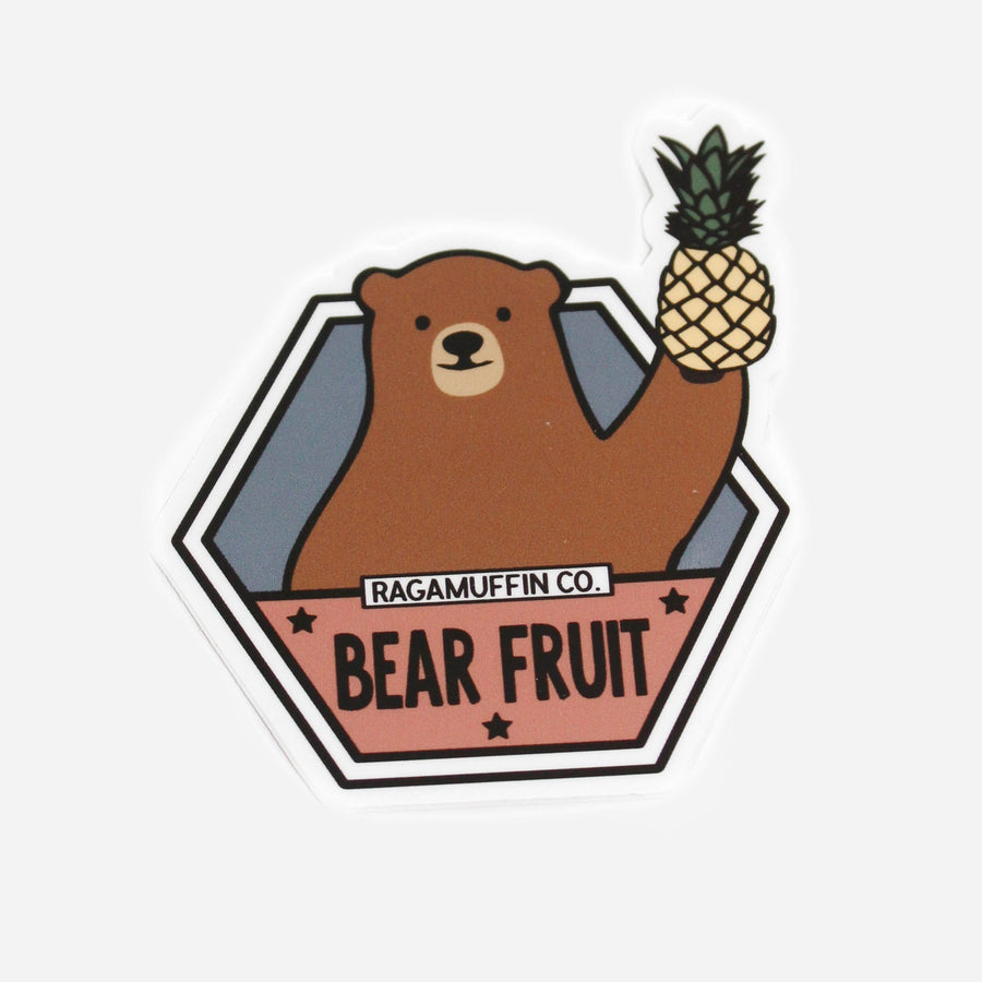 Bear Fruit // Sticker