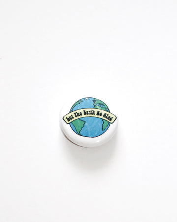 Happy Earth // Button