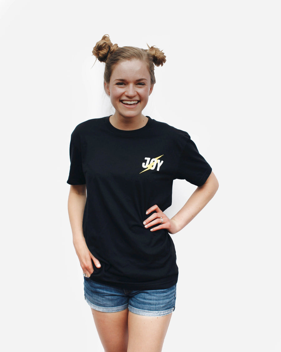 Count it all Joy Tee // Black